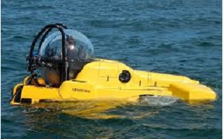 Manned Sub for Argentina Coast Guard